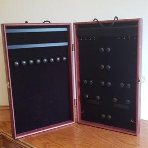 Custom made jewelry case.